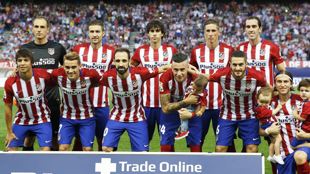 Atletico Madrid Football Team
