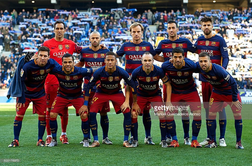 Barcelona Football Team