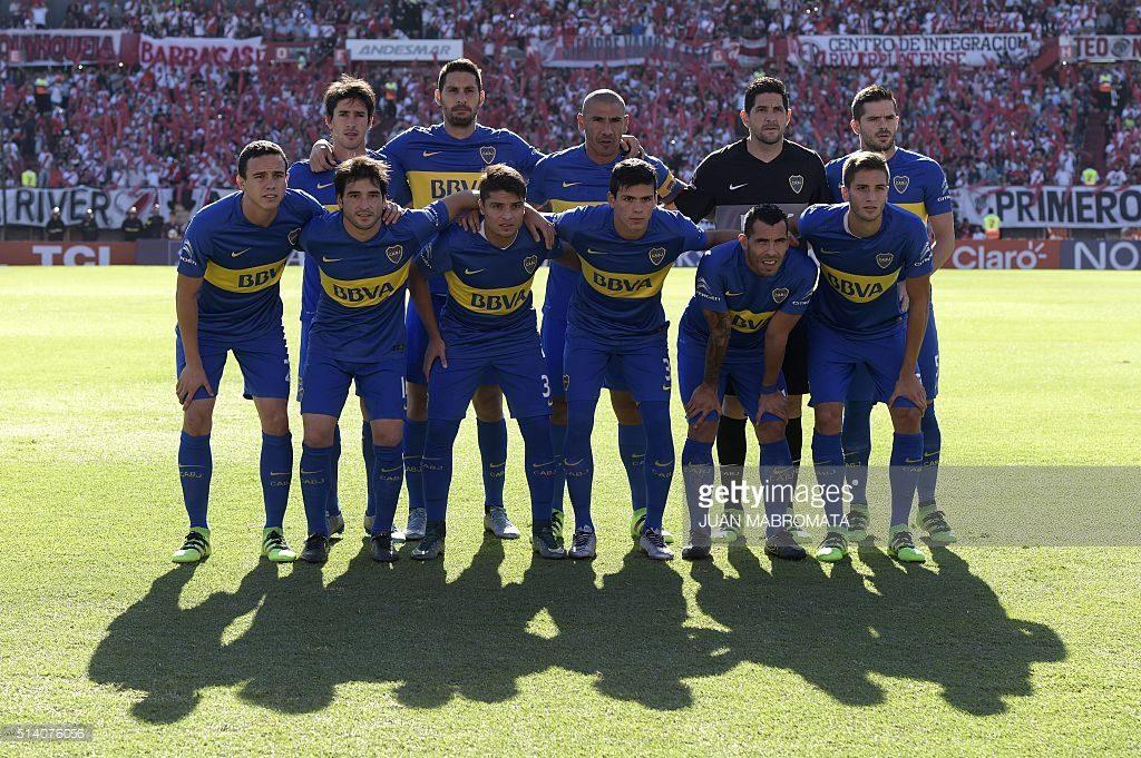 Boca Juniors Football Team