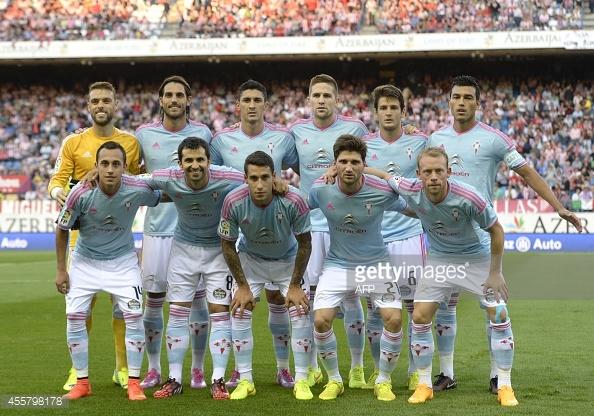 Celta De Vigo football team