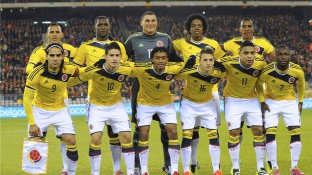 Colombia Football Team