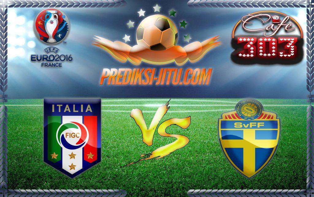 Prediksi Skor Italia Vs Swedia  17 Juni 2016