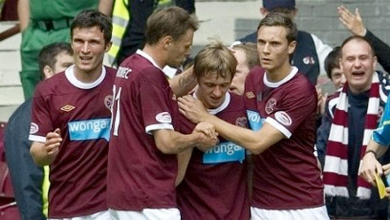 Hearts Football Team