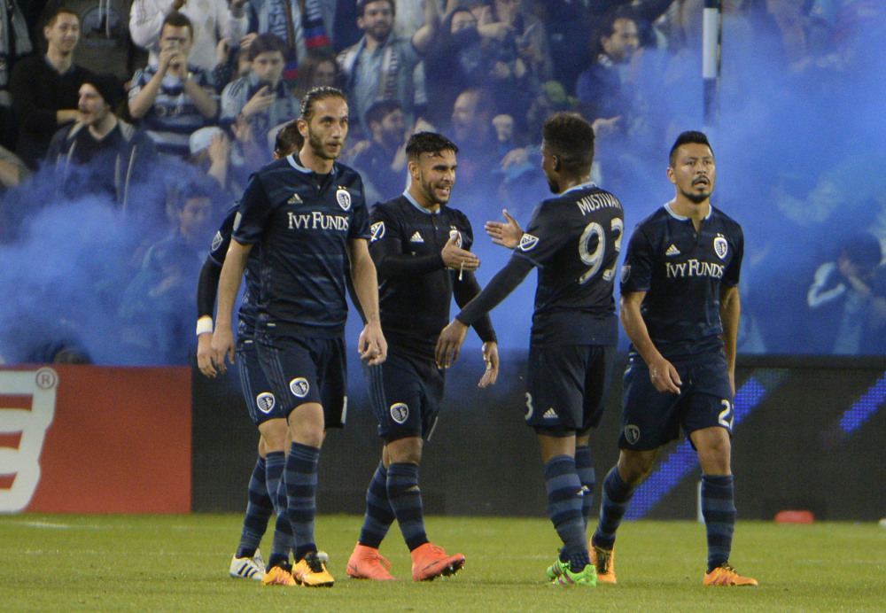 Sporting KC Soccer Team