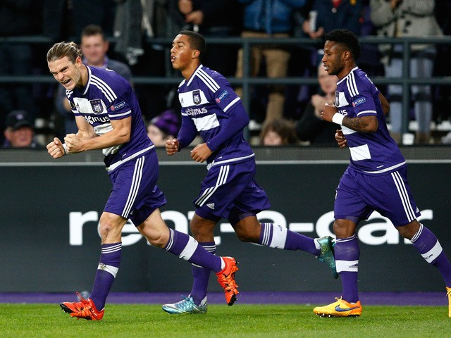 Anderlecht Football Team