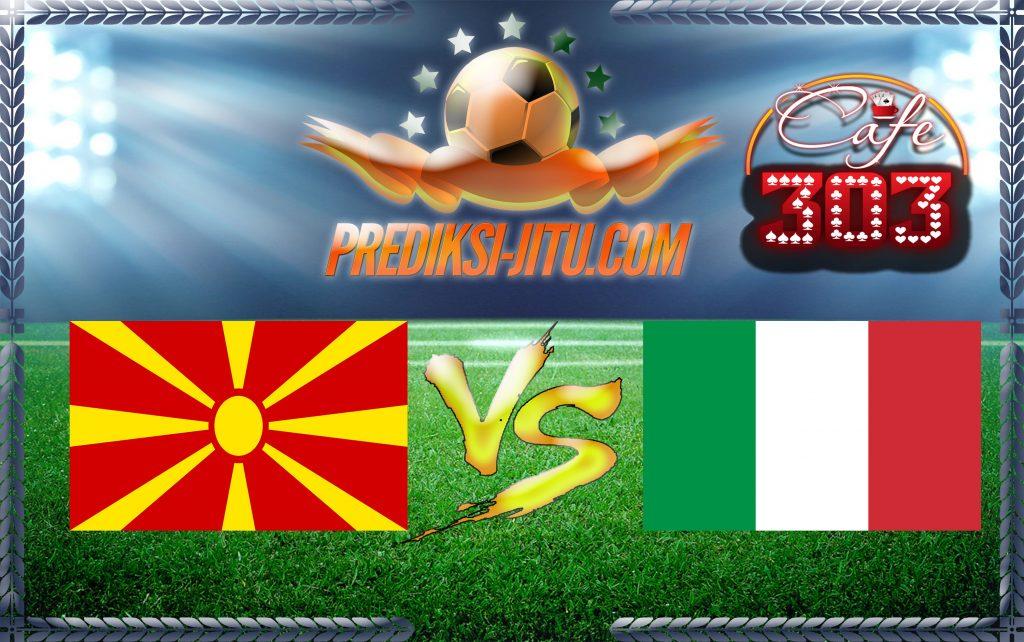 Prediksi Skor Republik Makedonia Vs Italia 10 Oktober 2016