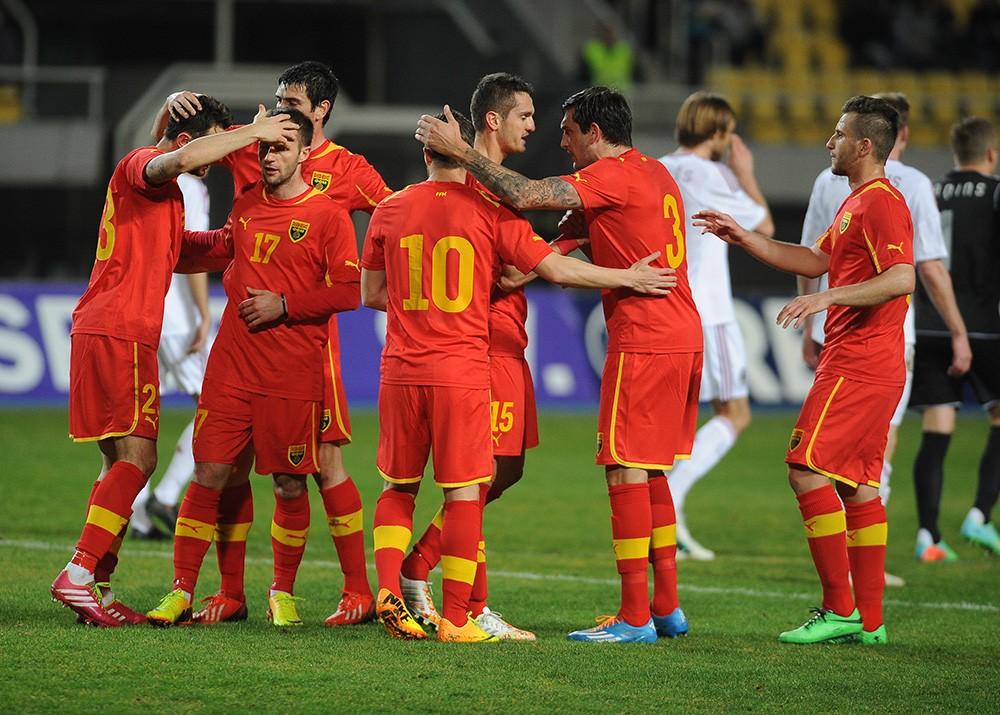 Republik Makedonia Football Team