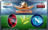 Prediksi Skor Cagliari Vs Napoli 11 Desember 2016