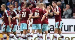 Burnley team football