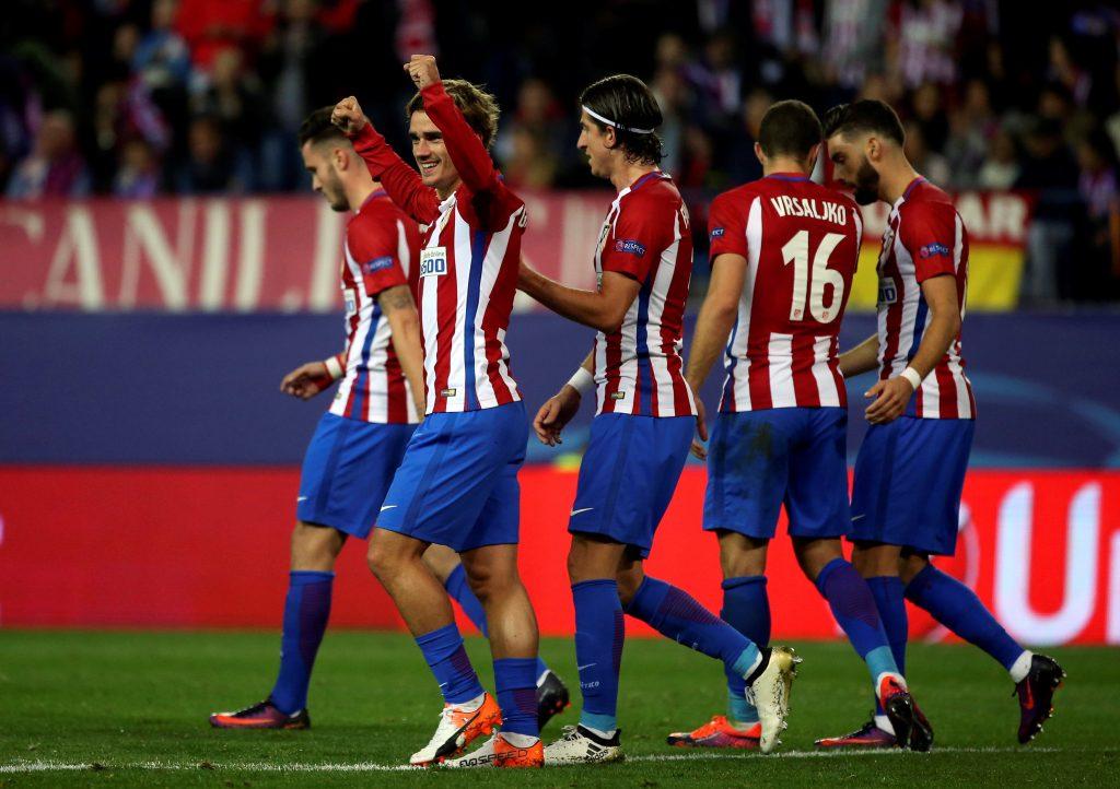 Atletico Madrid Football Team