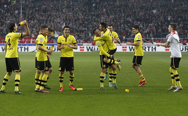 Borussia Dortmund Team Football