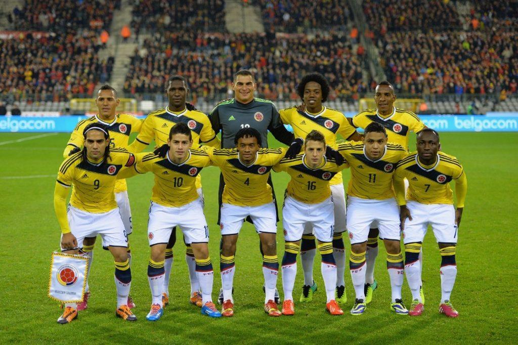 Clombia team football
