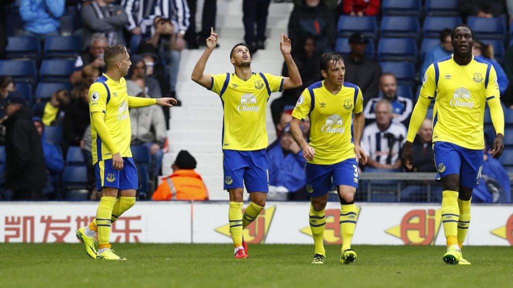 Everton Team Football