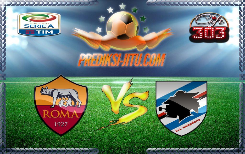 Prediksi Skor Roma Vs Sampdoria 20 Januari 2017