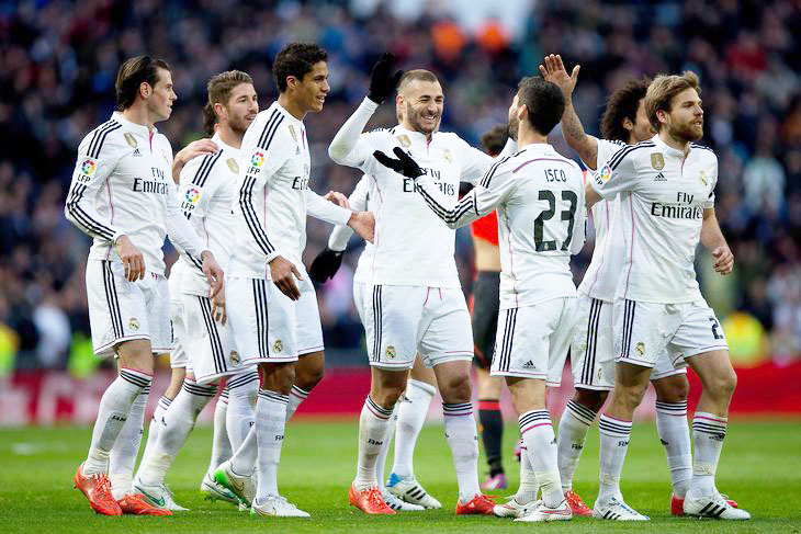 Real Madrid Team Football