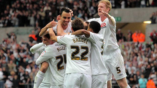 Swansea City Foitball Team