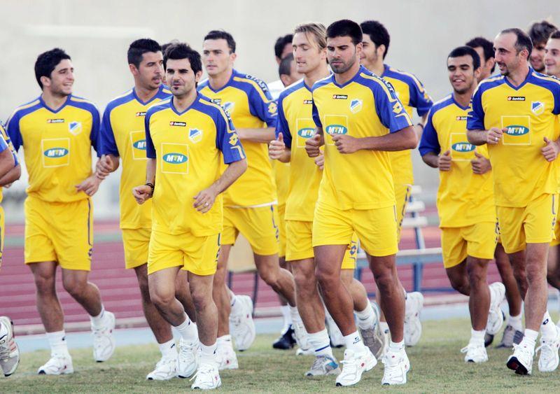 Apoel Team Football