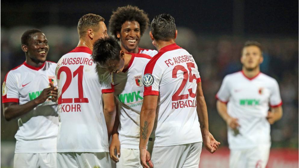 Augsburg Team Football