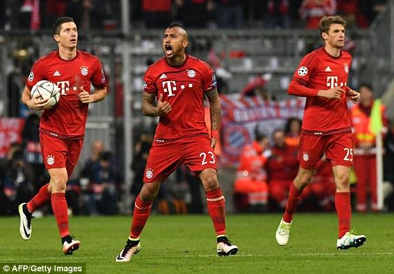 Bayern Munchen Football Team