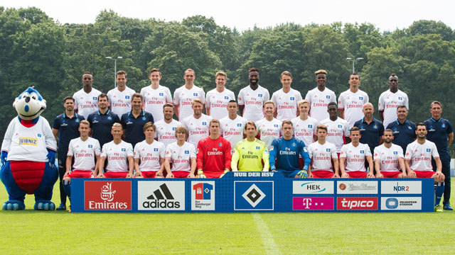 Hamburger SV Team football