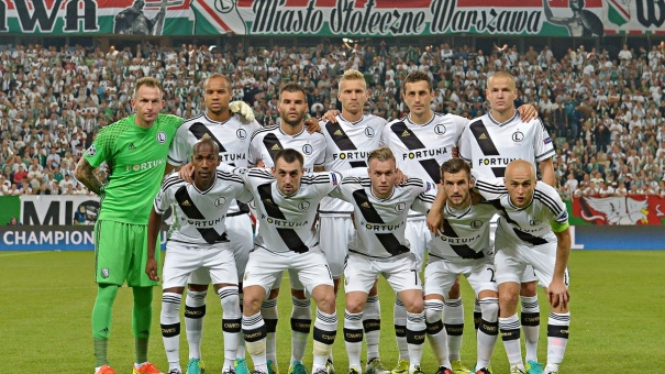 Legia Team Football
