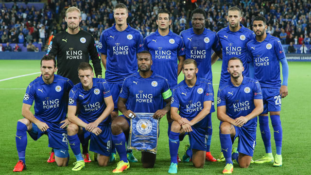 Leicester Team Football