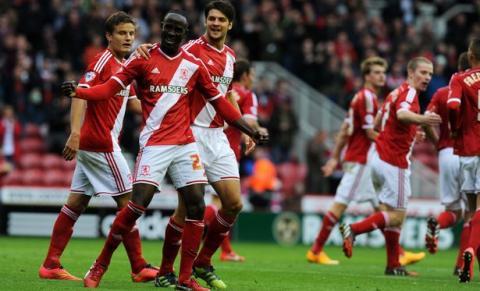 Middlesbrough Team Football
