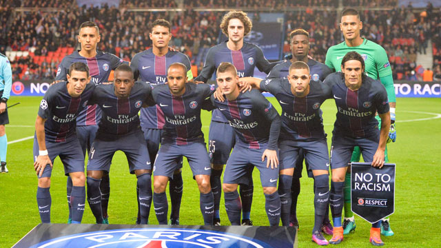 Paris Saint Germain Football Team