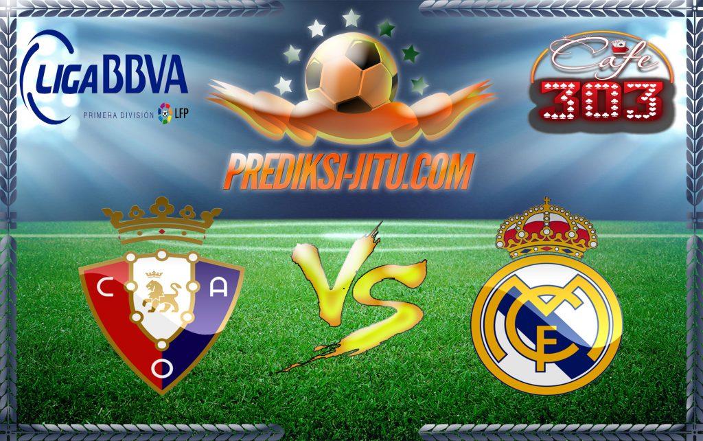 Prediksi Skor Osasuna Vs Real Madrid 12 Februari 2017