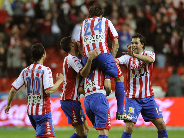 Sporting Gijon Football Team