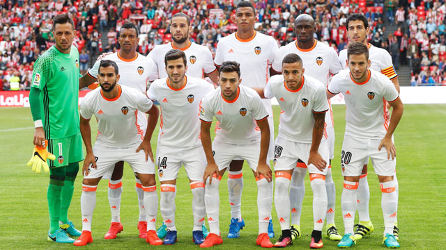Valencia Team Football
