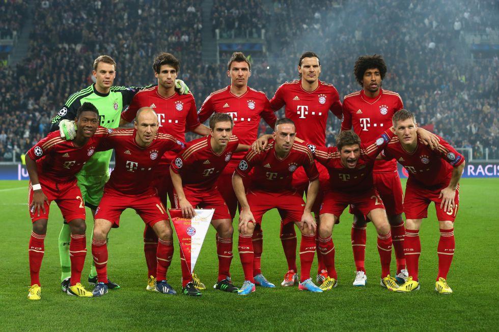 Bayern Munchen Team Football