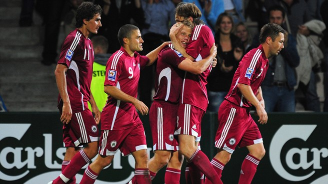 Latvia Football Team