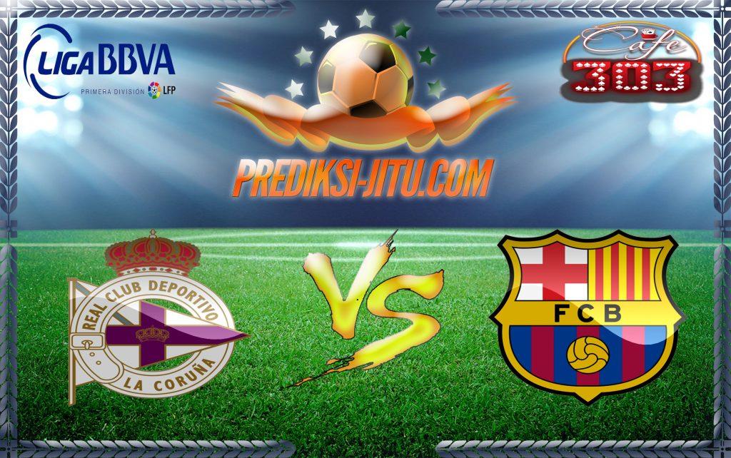 Prediksi Skor Deportivo La Coruna Vs Barcelona 12 Maret 2017