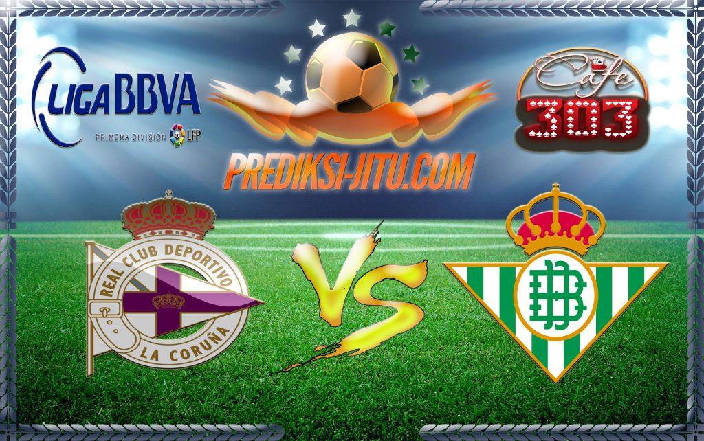 Prediksi Skor Deportivo La Coruna Vs Real Betis 9 Maret 2017