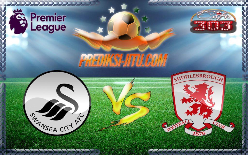 Prediksi Skor Swansea City Vs Middlesbrough 2 April 2017