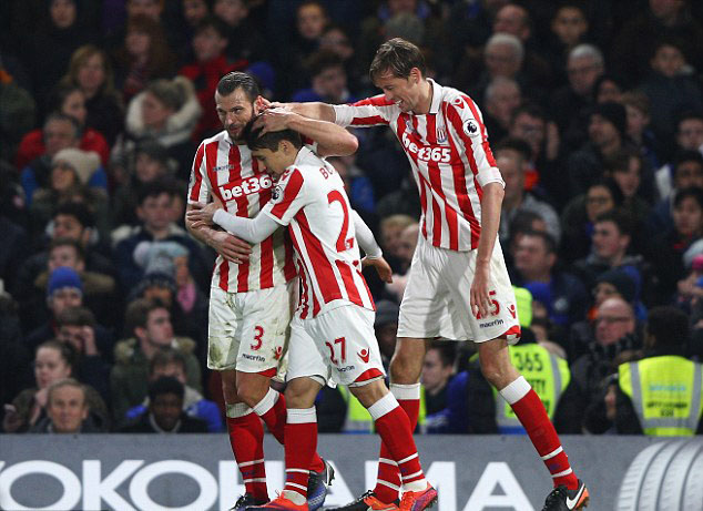 Stoke City Team Football