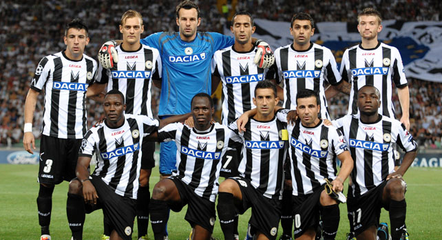Udinese Football Team