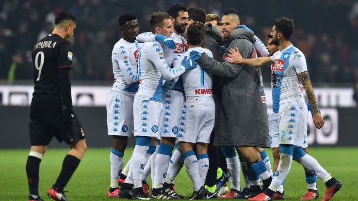 Napoli Team Football