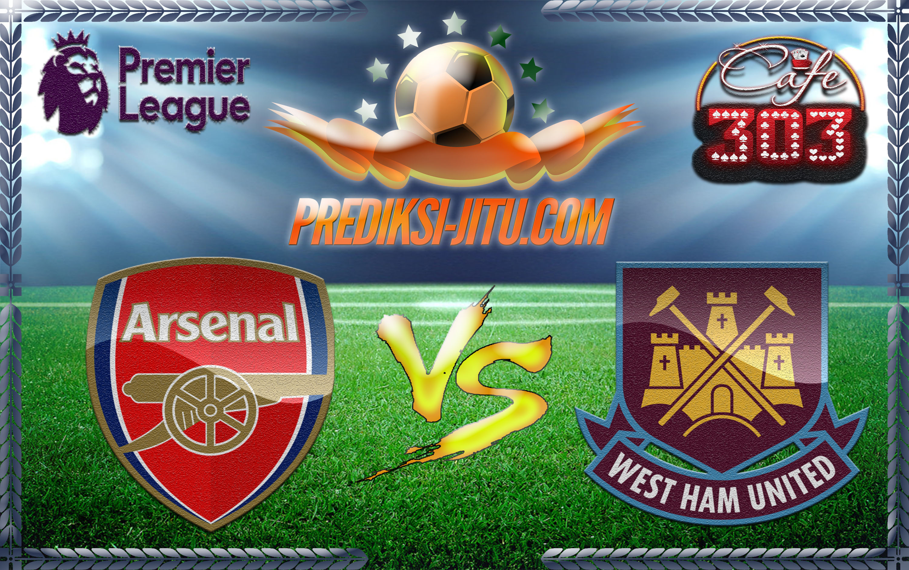 Prediksi Skor Arsenal Vs Westham United 6 April 2017