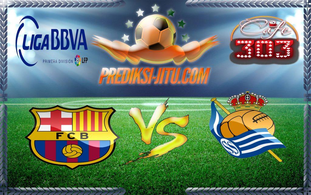 Prediksi Skor Barcelona Vs Real Sociedad 16 April 2017