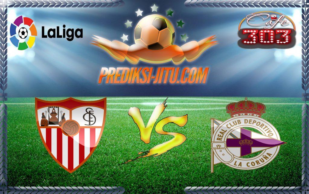 Prediksi Skor Sevilla Vs Deportivo La Coruna 8 April 2017