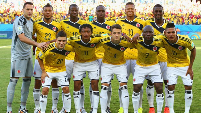 Colombia  Team Football