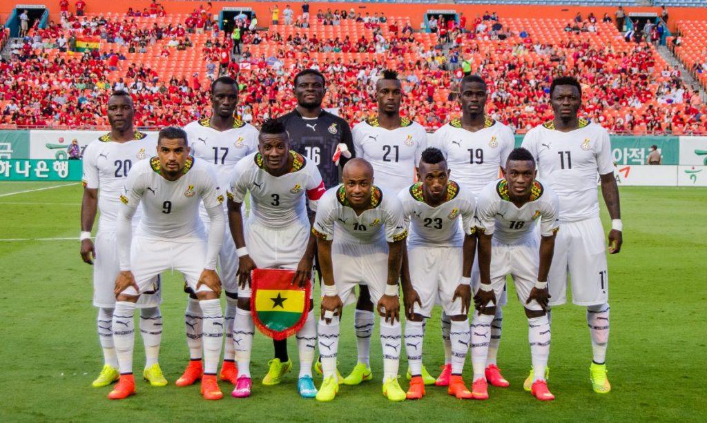 Ghana Team Football