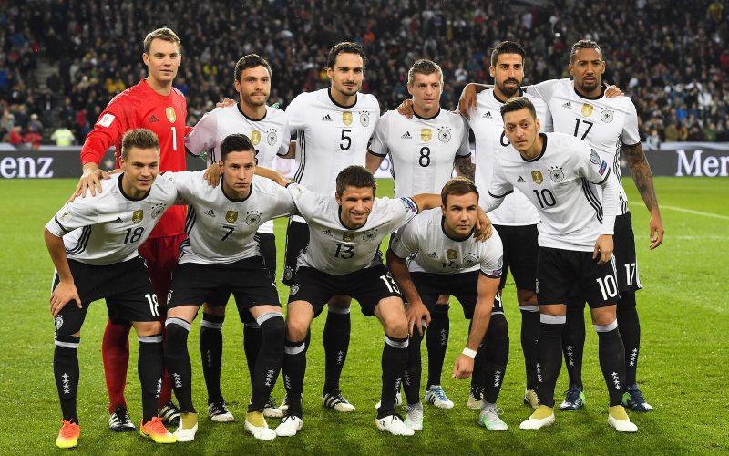 Jerman Football Team 2017