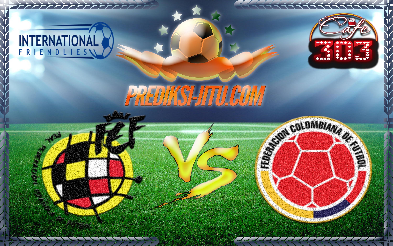 Prediksi Skor Spanyol Vs Colombia 8 Juni 2017