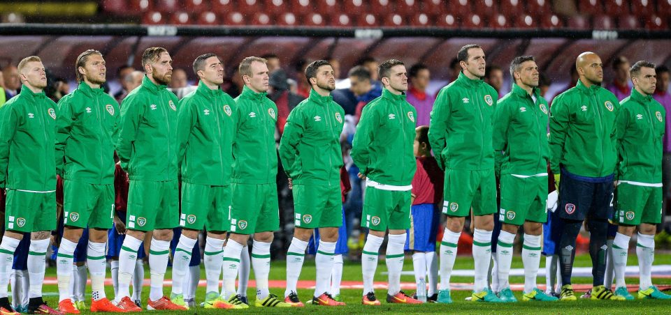 Republik Irlandia team football