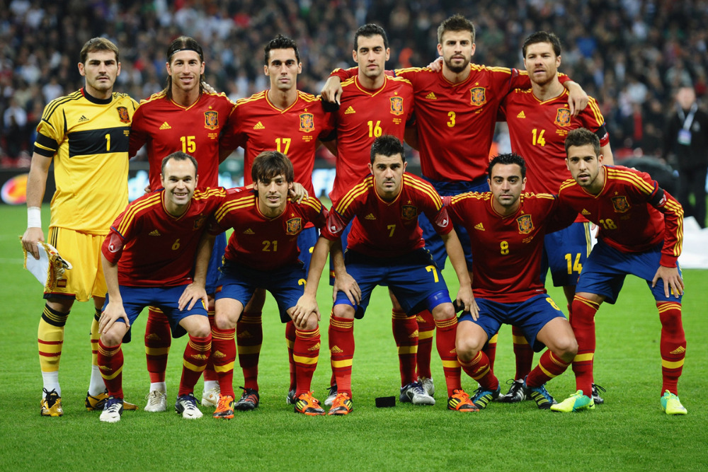 Spanyol Team Football