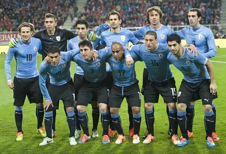 Uruguay  Team Football
