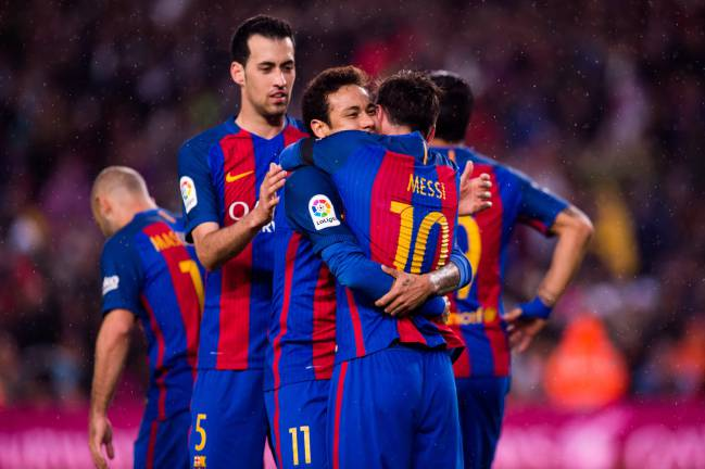 barcelona team football